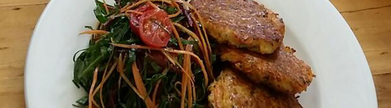 Image of Panfried Vegetable Fritters